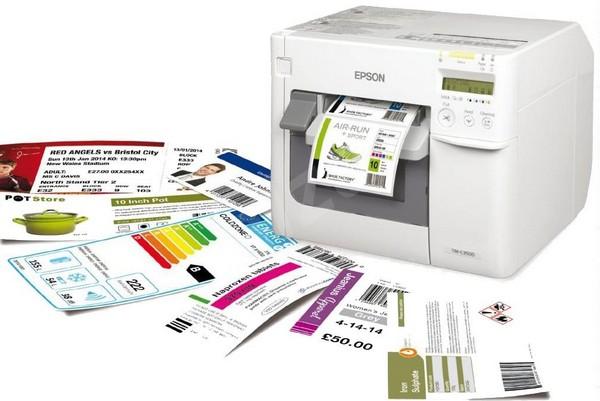 Epson ColorWorks C3500 — печать этикеток, ценников, билетов и многого другого.