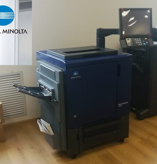 KONICA MINOLTA AccurioPress C3070L в демо-зале
