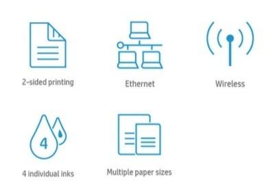 Основные преимущества МФУ HP OfficeJet Pro 7720