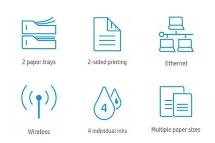 Основные преимущества МФУ HP OfficeJet Pro 7730