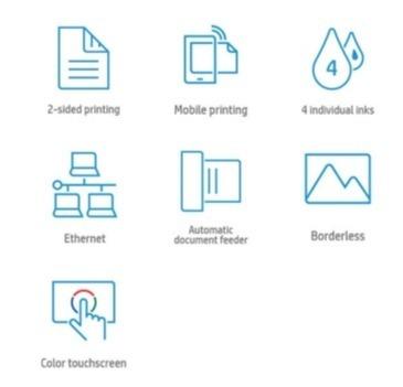 Основные преимущества МФУ HP OfficeJet Pro 7740