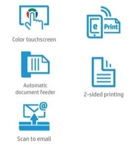 Основные преимущества МФУ HP OfficeJet Pro 8710