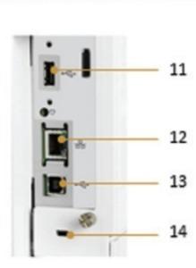 Внешний вид и основные компоненты лазерного принтера HP LaserJet Enterprise M608dn