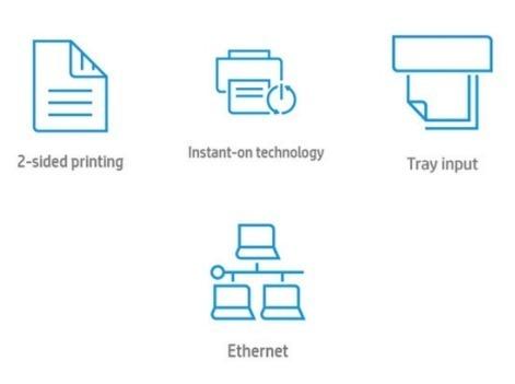 Основные преимущества лазерного принтера HP LaserJet Pro M501dn