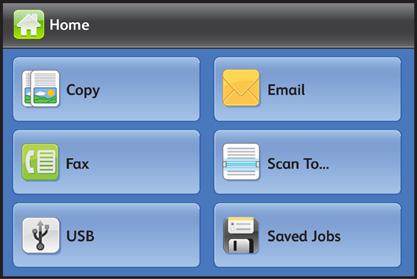 XEROX WorkCentre 3335 цветной и сенсорный экран