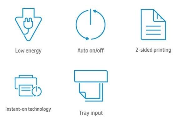 Основные преимущества лазерного принтера HP LaserJet Enterprise M608dn