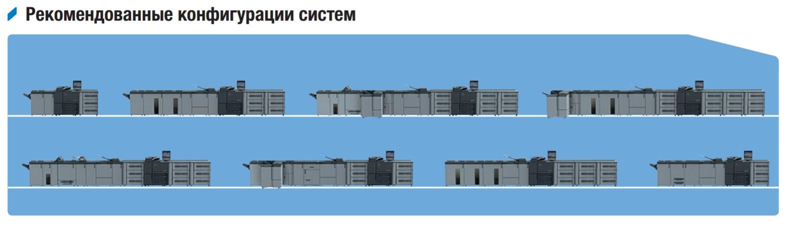 Рекомендованные конфигурации системы