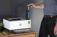 HP выпускает первый в мире лазерный принтер с многоразовым резервуаром для тонера