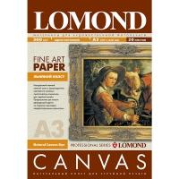 LOMOND 0908312 холст натуральный льняной А3 (297 x 420 мм) 300 г/м2, 20 листов