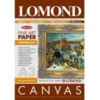 LOMOND 0908322 холст натуральный льняной А3 (297 x 420 мм) 320 г/м2, 20 листов