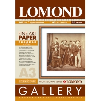LOMOND 0910032 фотобумага гладкая фактура Smooth А3 (297 х 420 мм) 165 г/м2, 20 листов