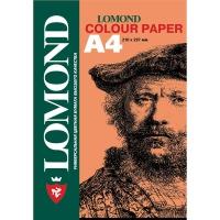 """LOMOND 1004303 бумага офисная цветная """"Персиковый"""" А4, 160 г/м2, 250 листов"""