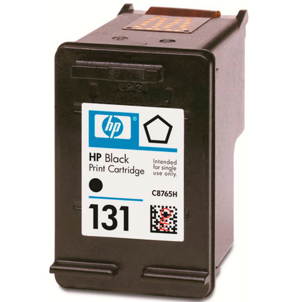 HP 131, C8765HE картридж чёрный для HP DeskJet 5743,6543,6623,6843,9803, OfficeJet 6213,7213,7313,7413, Officejet Mobile 100/150, PSC 1613/2353, Photosmart 325/375/2613/2713/8153/8453/8753 (11 мл)