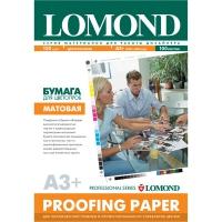 LOMOND 1410021 бумага матовая двухсторонняя для цветопроб А3+(329 х 483) 120 г/м2, 100 листов