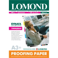 LOMOND 1414220 бумага глянцевая односторонняя для цветопроб А3+(329 х 483) 200 г/м2, 100 листов