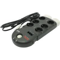 APC SurgeArrest 6 (PH6VT3-RS) источник бесперебойного питания, 230 В, защита телефонной и видео линий, 6 розеток