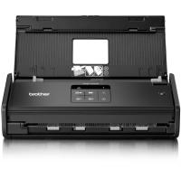 BROTHER ADS-1100W сканер портативный А4, 600 x 600 dpi, 16 стр/мин