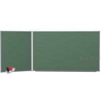 Доска магнитно-меловая BoardSYS 2 элементная 100 х 225 см, металлический профиль