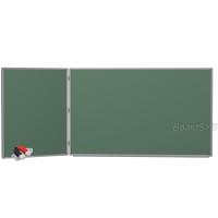Доска магнитно-меловая BoardSYS 2 элементная 120 х 255 см, алюминиевый профиль