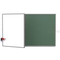 Доска комбинированная BoardSYS 2 элементная 120 х 225 см, алюминевый профиль
