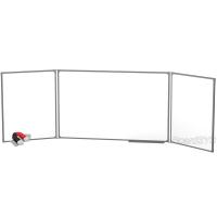 Доска магнитно-маркерная BoardSYS 3 элементная 100 х 340 см, металлический профиль