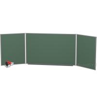Доска магнитно-меловая BoardSYS 3 элементная 100 х 350 см, металлический профиль
