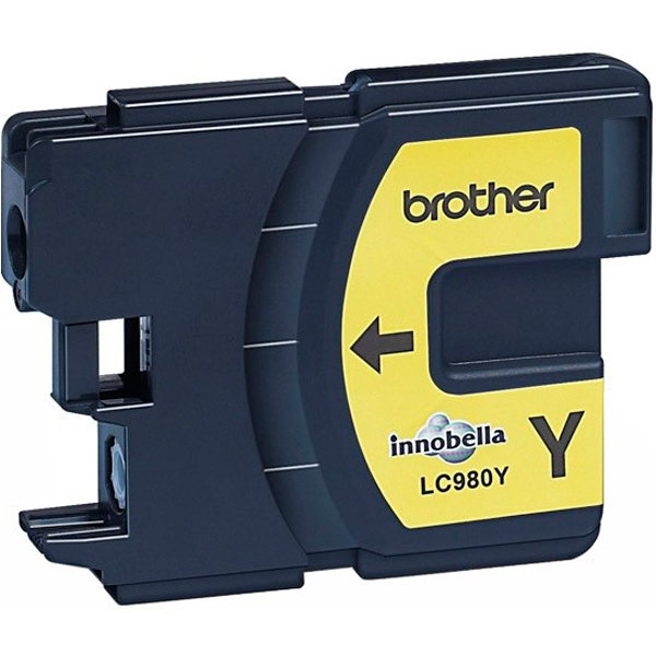 BROTHER LC980Y картридж для DCP-145C, DCP-165C, DCP-195C, DCP-375CW, MFC-250C (жёлтый, 260 стр)