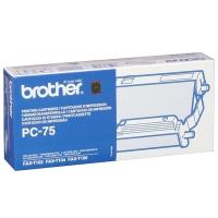 Картридж BROTHER PC-75 с термоплёнкой (144 стр) для FAX-T102, FAX-T104, FAX-T106