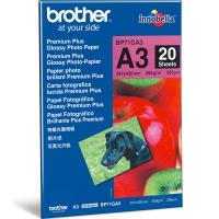 BROTHER BP71GА3 фотобумага глянцевая высшего качества А3 (297 x 420 мм) 260 г/м2, 20 листов