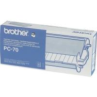 Картридж BROTHER PC-70 с термоплёнкой (144 стр) для FAX-T72, FAX-T74, FAX-T76, FAX-T78, FAX-T82, FAX-T84, FAX-T86, FAX-T92, FAX-T94,