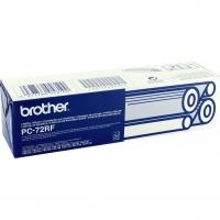 Термоплёнка BROTHER PC-72RF (2 шт. x 144 стр) для FAX-T72, FAX-T74, FAX-T76, FAX-T78, FAX-T82, FAX-T84, FAX-T86, FAX-T92, FAX-T94,