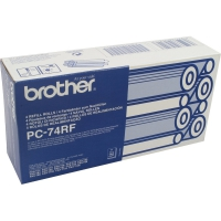 Термоплёнка BROTHER PC-74RF (4 шт. x 144 стр) для FAX-T72, FAX-T74, FAX-T76, FAX-T78, FAX-T82, FAX-T84, FAX-T86, FAX-T92, FAX-T94,