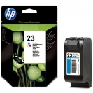 HP 23, C1823D картридж цветной для HP Deskjet 710c, 720c, 810, 830, 880, 890, 1120c Series, Officejet R40, R60, R80, T45, T65, Pro 1170, 1175 Series, Color Copiers 140, 145, 150, 155, 160, 170, 260, 270, 500 (30 мл)