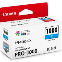 CANON PFI-1000C картридж голубой