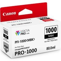 CANON PFI-1000MBK картридж матовый черный