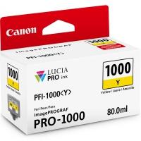 CANON PFI-1000Y картридж жёлтый