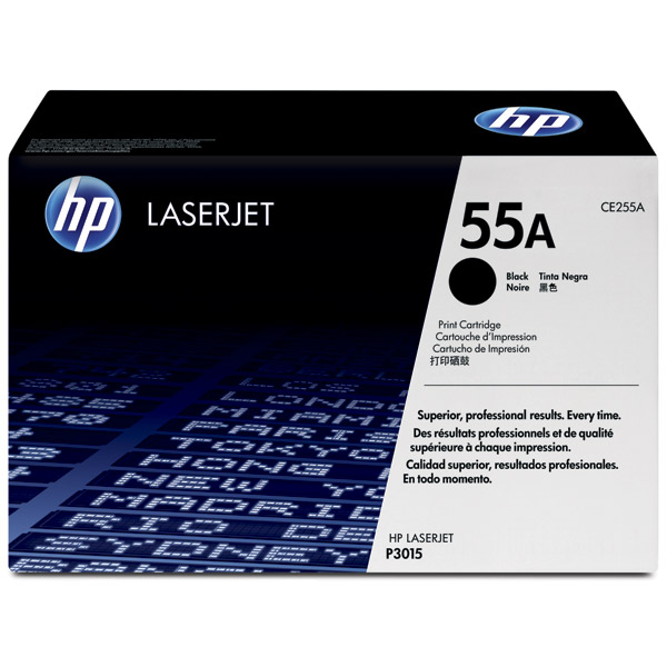 HP 55A, CE255A картридж для LaserJet Enterprise P3015, M521, M525 (6000 стр)