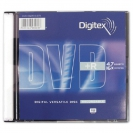 DIGITEX DVD-R диск 16x Slim Case 5 шт, DVD-R47B16-ST1