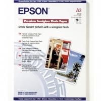 EPSON C13S041334 фотобумага полуглянцевая А3 (297 x 420 мм) 260 г/м2, 20 листов