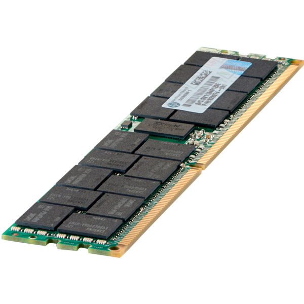 HP 672631-B21 модуль памяти 16 ГБ (1 x 16 Гб) Dual Rank x4, PC3-12800R, DDR3-1600, CAS-11