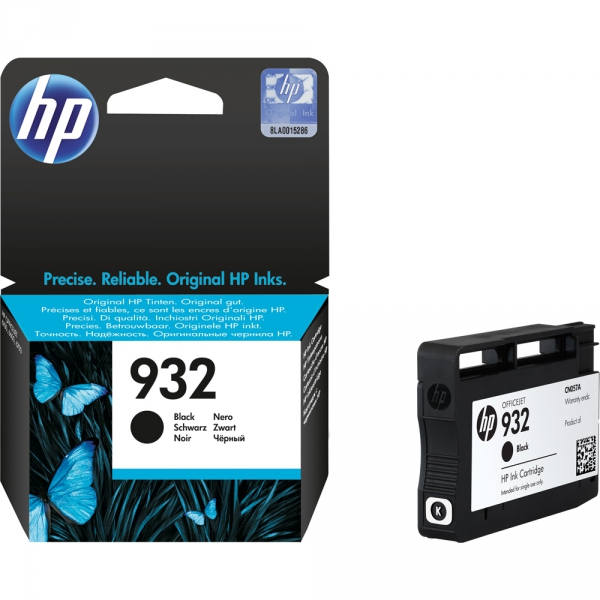 HP 932, CN057AE картридж чёрный для Officejet 6700, 7110, 7510 (400 стр)