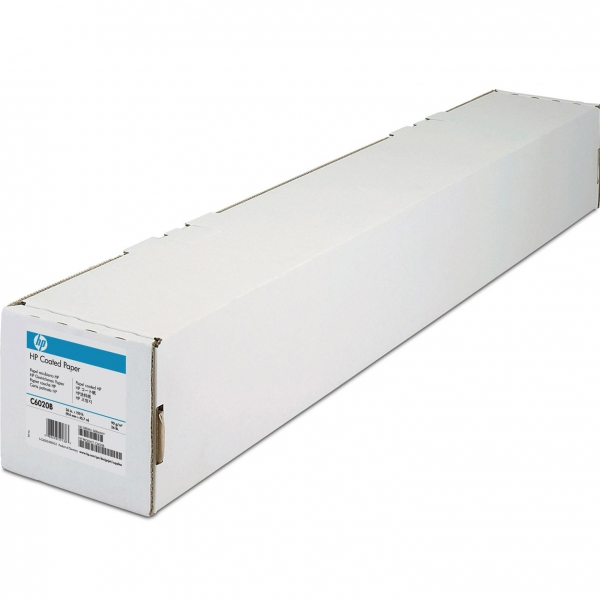 "HP Coated Paper (C6020B) бумага 36"" (914 мм) 90 г/м2, 45,7 метра"