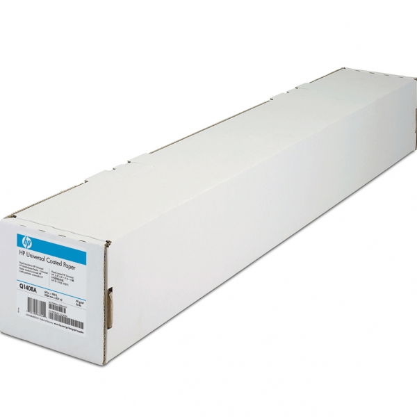 "HP Universal Coated Paper (Q1408A) бумага 60"" (1524 мм) 95 г/м2, 45,7 метра"