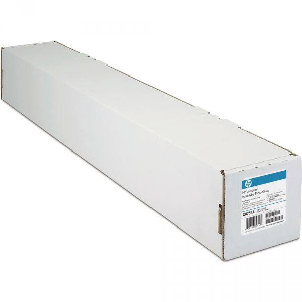 "HP Universal Instant-dry Gloss Photo Paper (Q8754A) бумага 42"" (1067 мм) 190 г/м2, 61 метр"