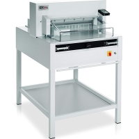 IDEAL 4855 резак гильотиннный, электрический прижим, длина реза 475 мм, 800 листов