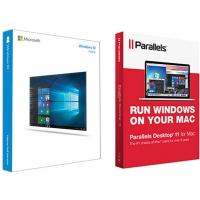 Операционная система Microsoft Windows 10 Home 32/64 bit (включает Parallels Desktop 11) (KW9-00253-P)