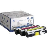 KONICA MINOLTA комплект тонер-картриджей CMY для magicolor 2400W, 2430DL, 2450, 2500W, 2530DL, 2550, 2480MF, 2490MF, 2590MF (3 шт.