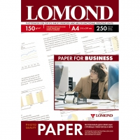 LOMOND 0102133 фотобумага глянцевая односторонняя А4, 150 г/м2, 250 листов