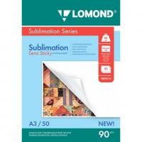 LOMOND 0809316 бумага сублимационная матовая липкая А3 (297 х 420) 90 г/м2, 50 листов