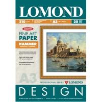 LOMOND 0916032 фотобумага молоток А3 (297 х 420 мм) 210 г/м2, 20 листов